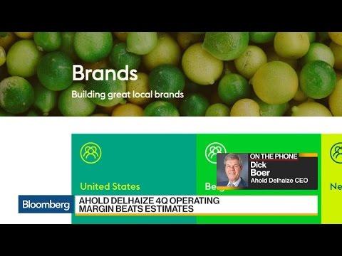 Ahold Delhaize's CEO Says Focus Is Improving Efficiencies