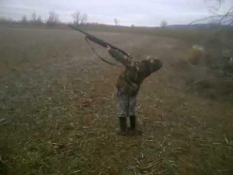 Hunter Jokes: Little Hunter, Big Gun