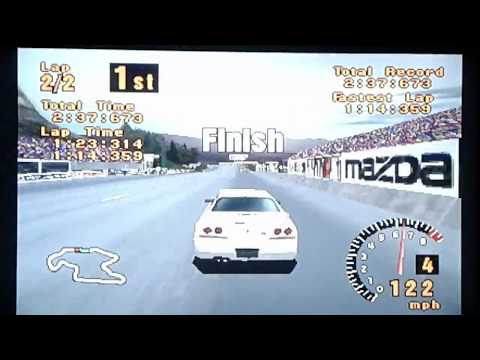 Gran Turismo - Trial Mountain: Difficult Mode (Single Race)