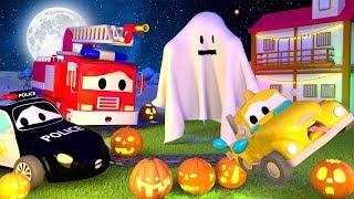 🎃Hantu Menakuti Bayi-bayi di Kota Mobil Halloween - Patro...