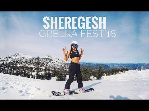 SHEREGESH  СПУСК В КУПАЛЬНИКАХ / Grelka Fest`18.VLOG WITH GOPRO 5