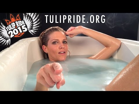 Tricia Helfer wants YOU at the 2015 Tulip Ride