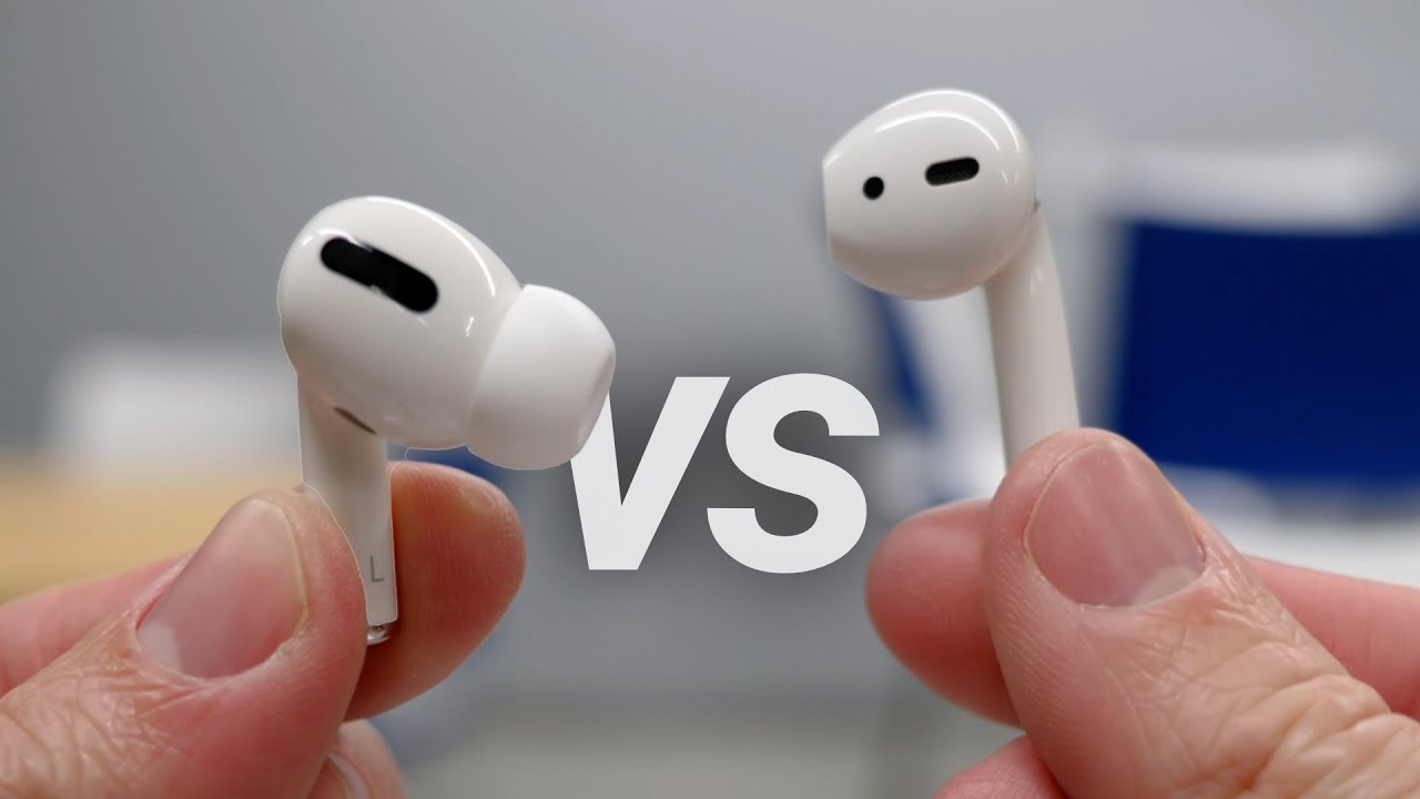 Airpods Pro Vs Airpods 2 Sound Quality Comfort Fit More Youtube