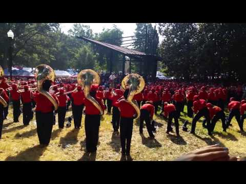 University of Mississippi marching band