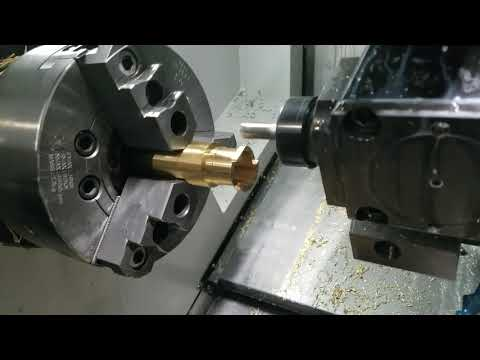 Buck's CNC Y-axis lathe complete part