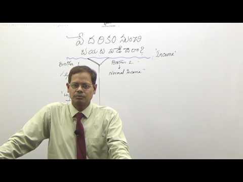 WEALTH CREATION 9 I telugu videos I( పేదరికం వదిలించుకోవటం ఎలా?)