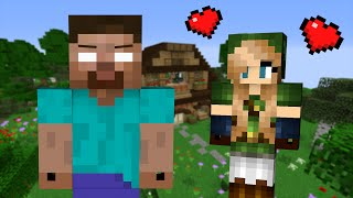 If a Girl fell in Love with Herobrine Minecraft