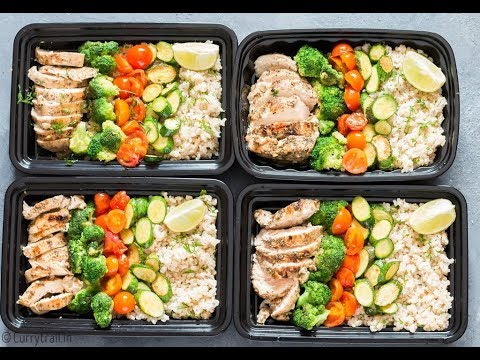 Chicken Brown Rice Meal Prep