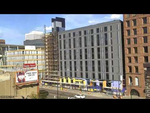AC Hotel Minneapolis Timelapse (Webcam 14months)