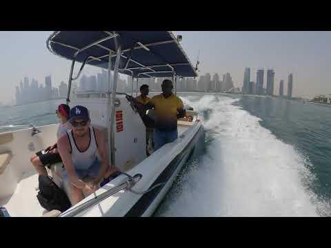 Boat ride in Dubai insta 360 one x test footage