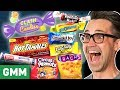 Worst Halloween Candy Taste Test (Day 2)