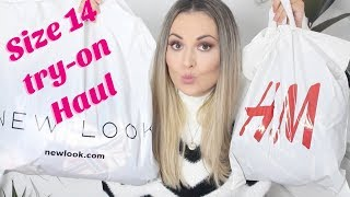 SIZE 14 TRY-ON HAUL - Topshop, H&M, NewLook / Gem Lo Valentine