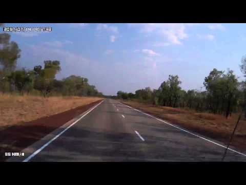 Video 260-Stuart Highway - Daly Waters T/O to the Buchanan Highway T/O