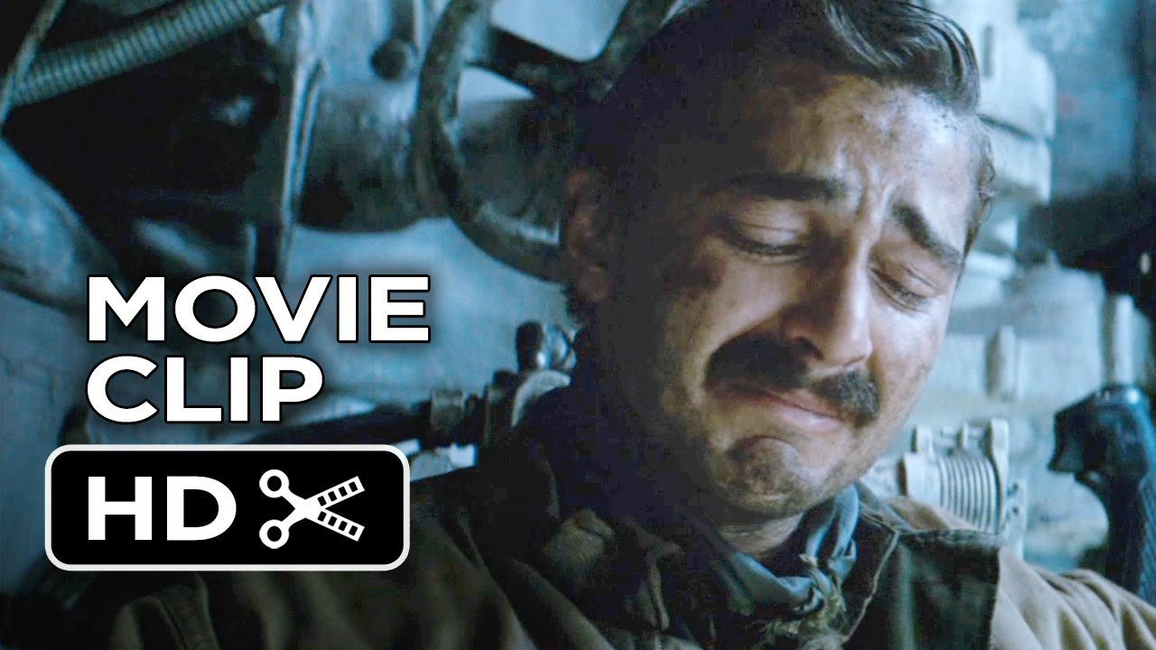 Images Of The Movie Fury: Shia LaBeouf, Brad