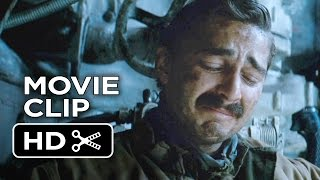 Fury Movie CLIP - Bible Verse (2014) - Shia LaBeouf, Brad Pitt Movie HD
