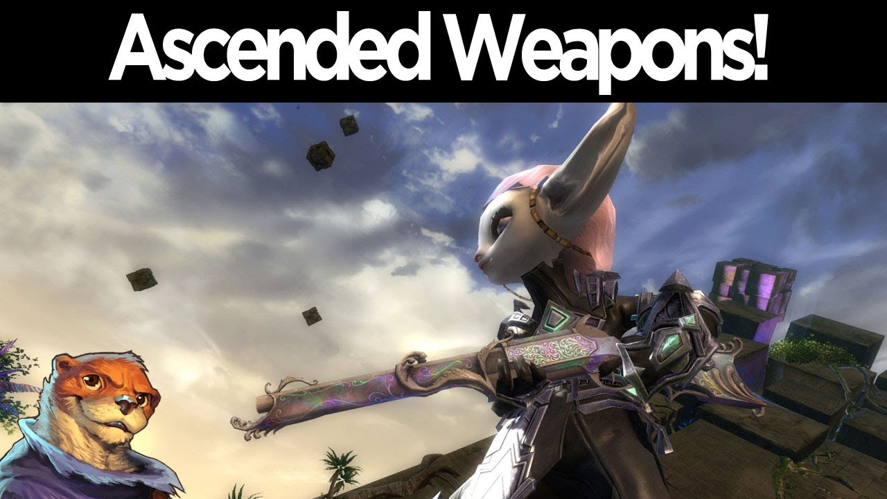 Guild Wars 2 Ascended Weapon Preview Youtube