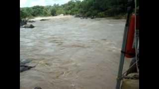 Funilão do rio Claro - Goiás / Brasil, 27-09-2012  (vídeo 3)