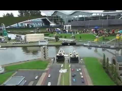 Madurodam Miniature City Den Haag Netherlands August 18 2015