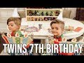 OUR TWINS 7th BIRTHDAY | Introducing Our New Family Member