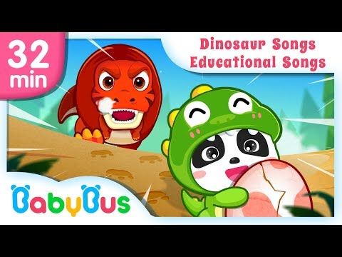 Dinosaur Planet + More 18 New Songs | Animation & Kids Songs collections | BabyBus