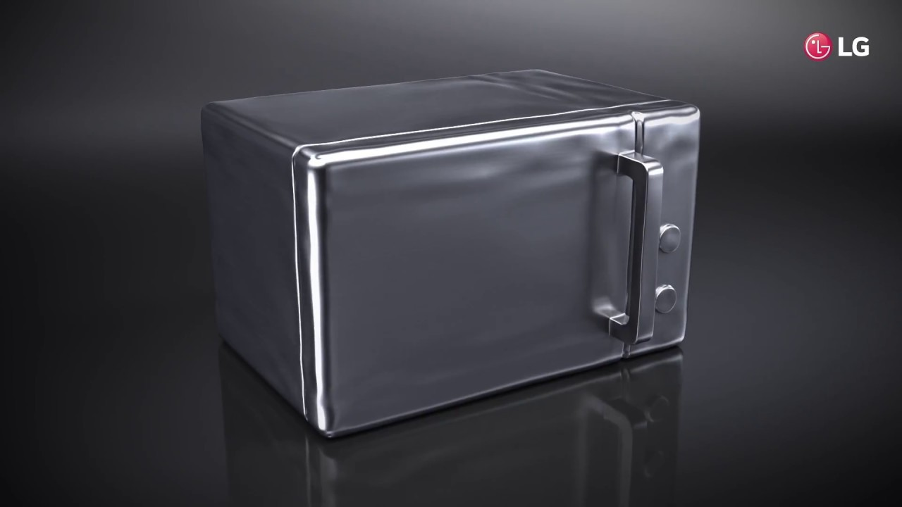 Lg Neochef Microwave Ovens The Art Of Minimalism Youtube