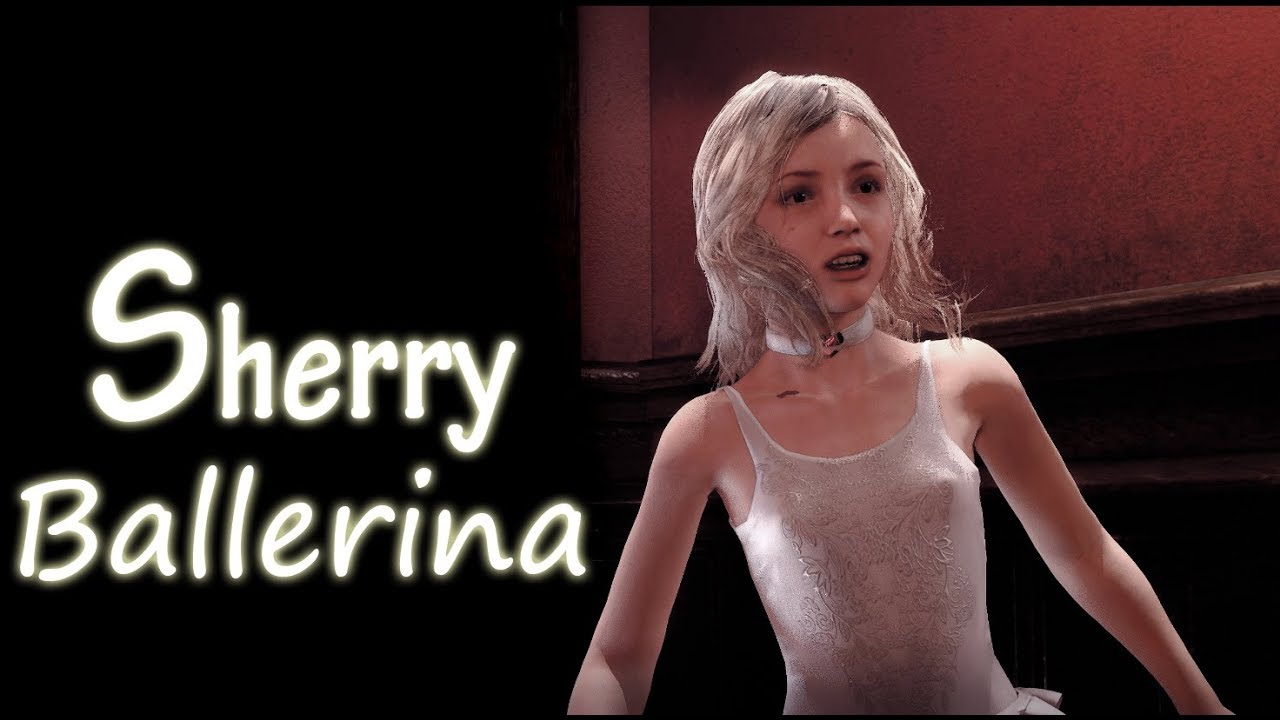 Download Resident Evil 2 Remake mod Sherry Ballerina outfit part 2 #chokobogame