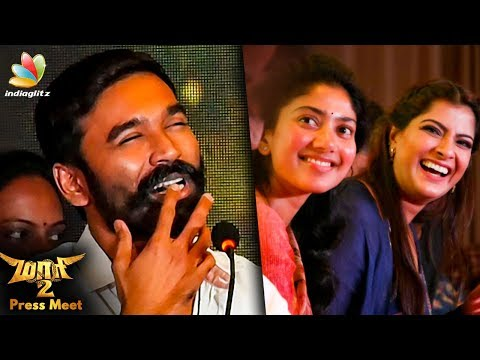 Dhanush Open Speech | Maari 2 Press Meet