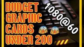(2018)Best Budget Graphics Cards to Buy Right NOW against CRYPTOMINING | Under $200 | TapRex