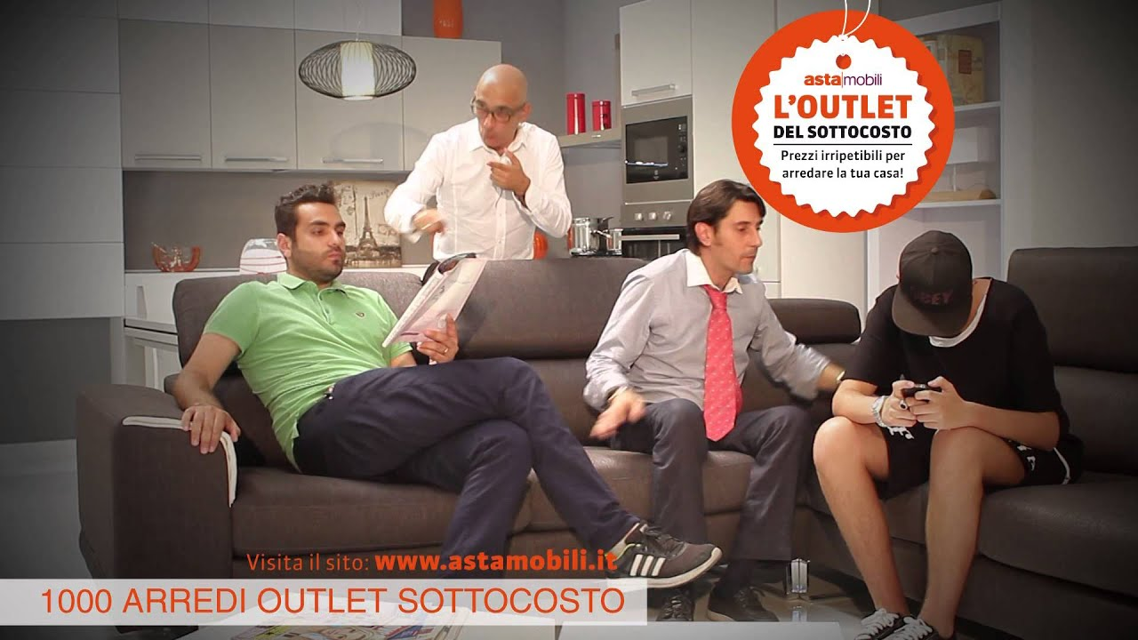 Asta mobili outlet del sottocosto spot 1 youtube for Mobili sottocosto online