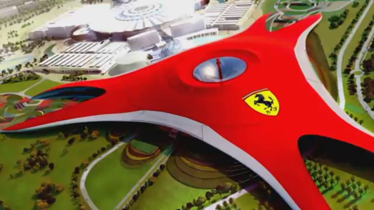 how to get to ferrari world from dubai by bus