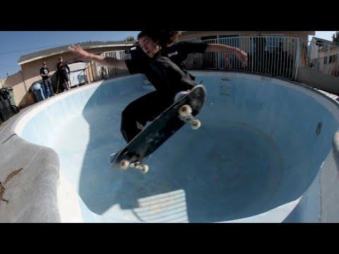 Backyard Barging 13 | Backyard Pool Skating With Tristan Rennie, Keegan Palmer, and More