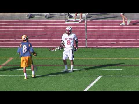 Lacrosse ball disappears in the middle of game!? (Mahopac vs White Plains)
