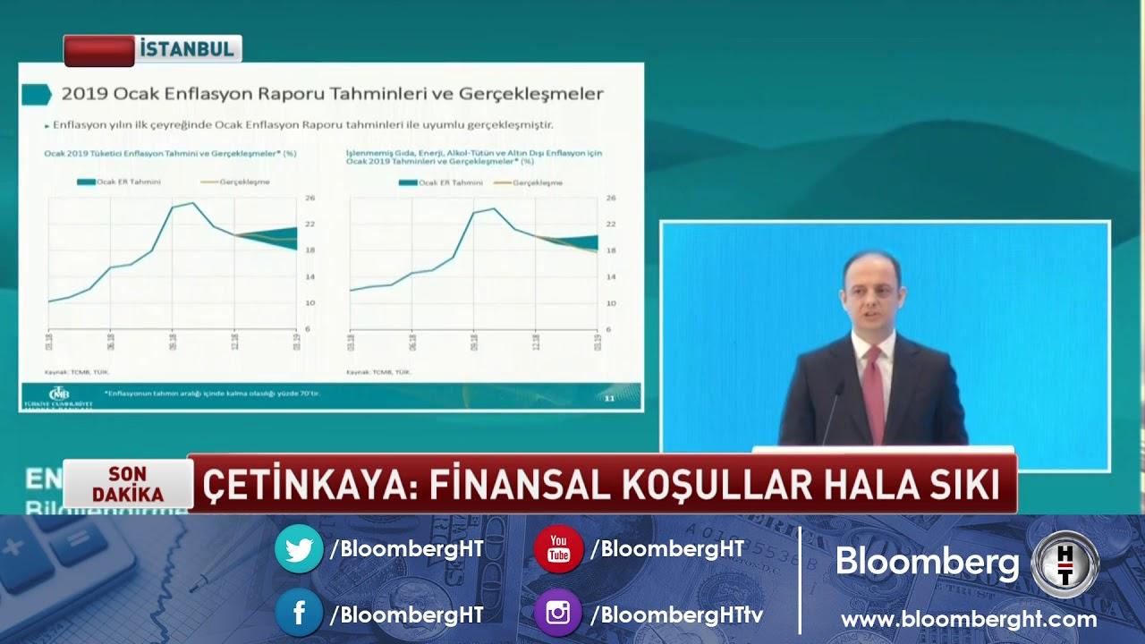 Enflasyon Raporu - TCMB Başkanı Murat Çetinkaya