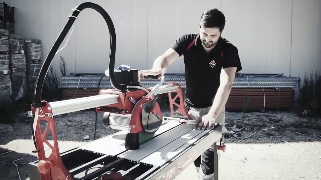 Rubi Dc 250 Zero Dust Wet Tile Cutter Pro Electric Saw