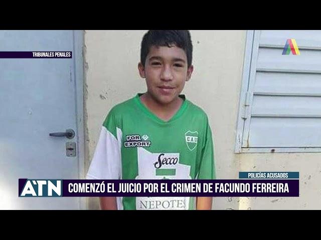 Comenzó el juicio por el crimen de Facundo Ferreira