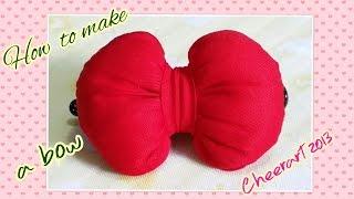 How to make a bow (tutorial) 如何製作美麗的蝴蝶結
