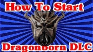 Skyrim Dragonborn DLC: How To Start The Quest Tutorial