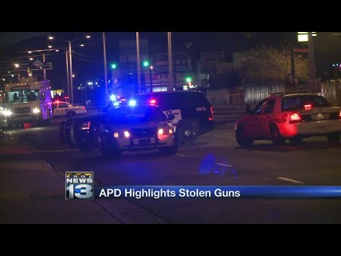 APD: Over 1,000 guns stolen from cars since July 2016