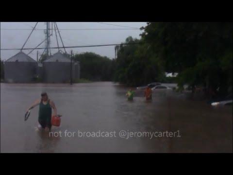 Maysville Oklahoma Flood, June 12, 2016