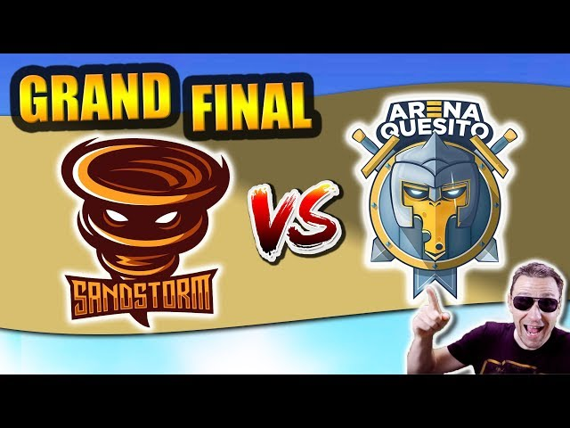 ARENA QUESITO (EU) vs SANDSTORM (AME) - RPL WORLD GRAND FINAL - Clash Royale eSports