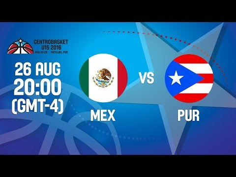 Mexico v Puerto Rico - Group A - 2016 FIBA Centrobasket U15 Championship