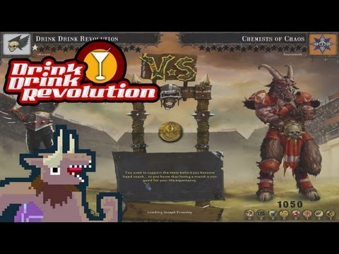 BloodBowl: CE - Drink Drink Revolution - Match 2 v. Chaos