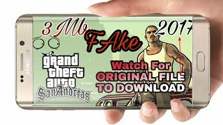 How to download install Gta San Andreas 2017 New Link version in ANDROID (Hindi/Urdu)
