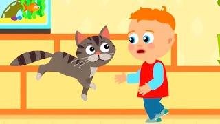 КОТИКИ и другие домашние животные - Большой сборник - Песни про котят, животных, машинки