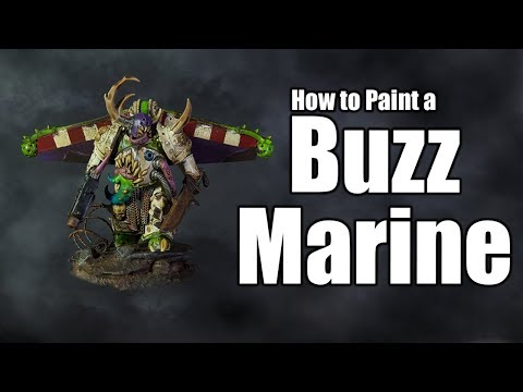 How to Paint a Buzz Marine