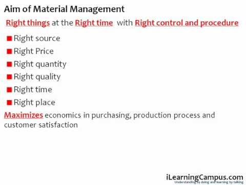 Material Management Overview