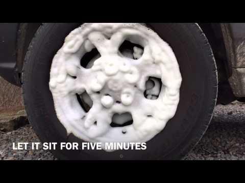 Quick & Easy Way To Clean Break Dust Off Your Wheels