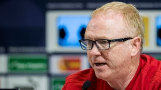 Alex McLeish Press Conference | Israel v Scotland
