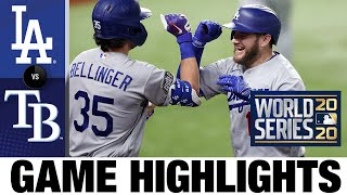 Joc Pederson, Max Muncy homer in World Series Game 5 win | Dodgers-Rays Game 5 Highlights 10/25/20