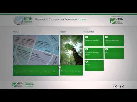the-new-vitae-researcher-development-framework-planner